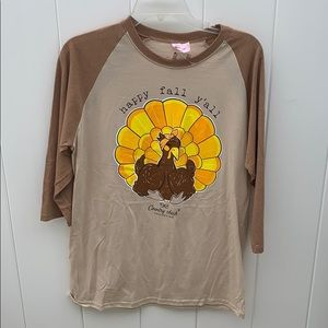 Medium NWT country chic Simply Southern t